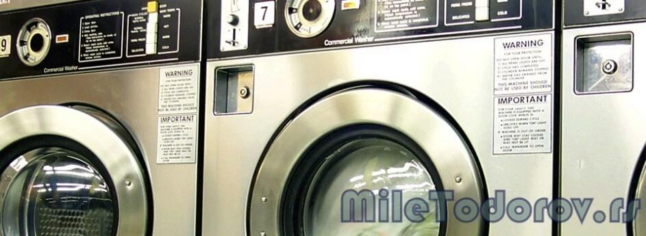 """Knjiga """"Popravka savremenih mašina za pranje veša"""""""